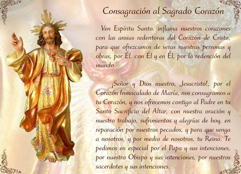 Consagracion sagrado corazon