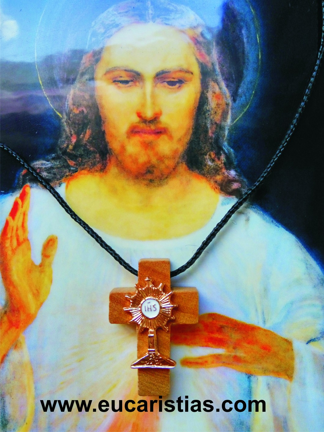 cruz eucaristica de la Misa del Papa francisco.