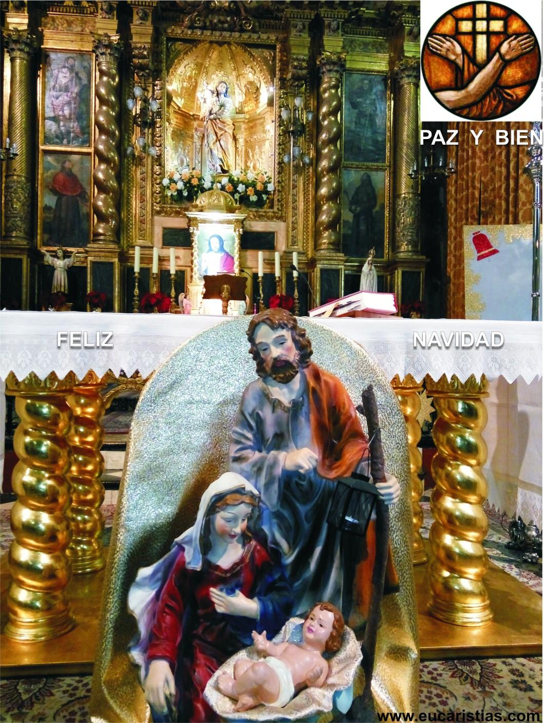 feliz navidad franciscana.