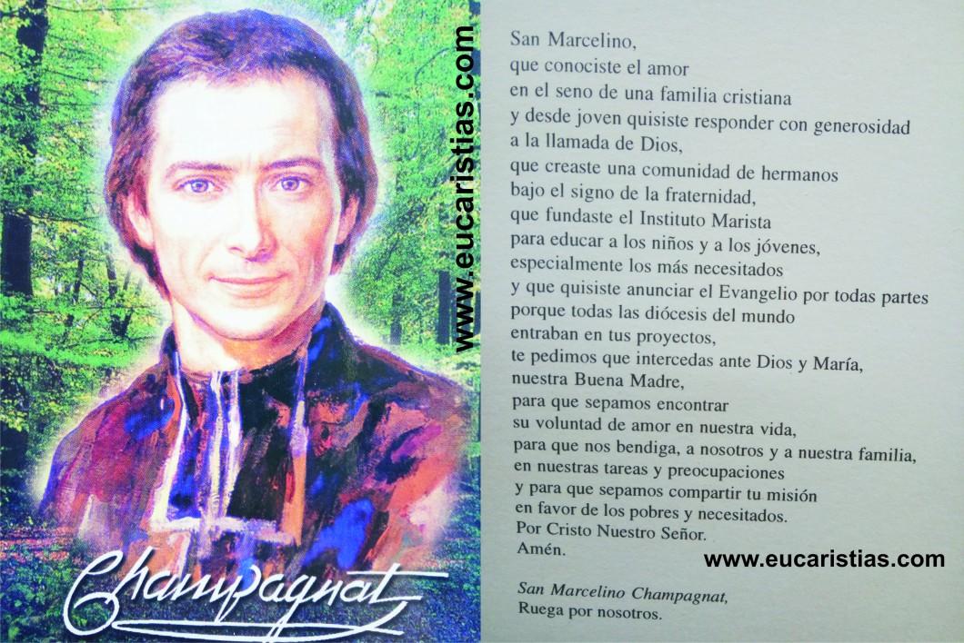 Marcelino chapagnat.