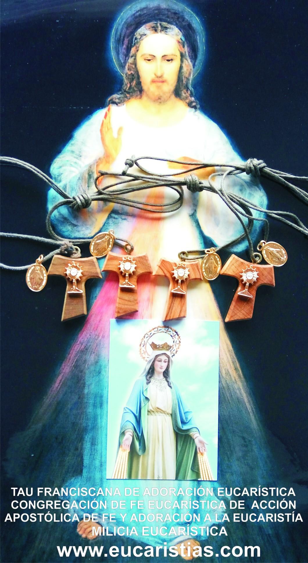 bendicion de cruces.