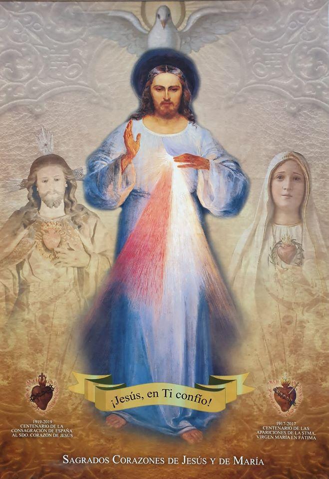 sagrados corazones de jesus y maria