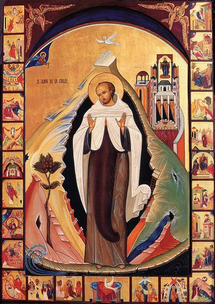 Icono-Juan-de-la-Cruz-Carmelitas-Líbano