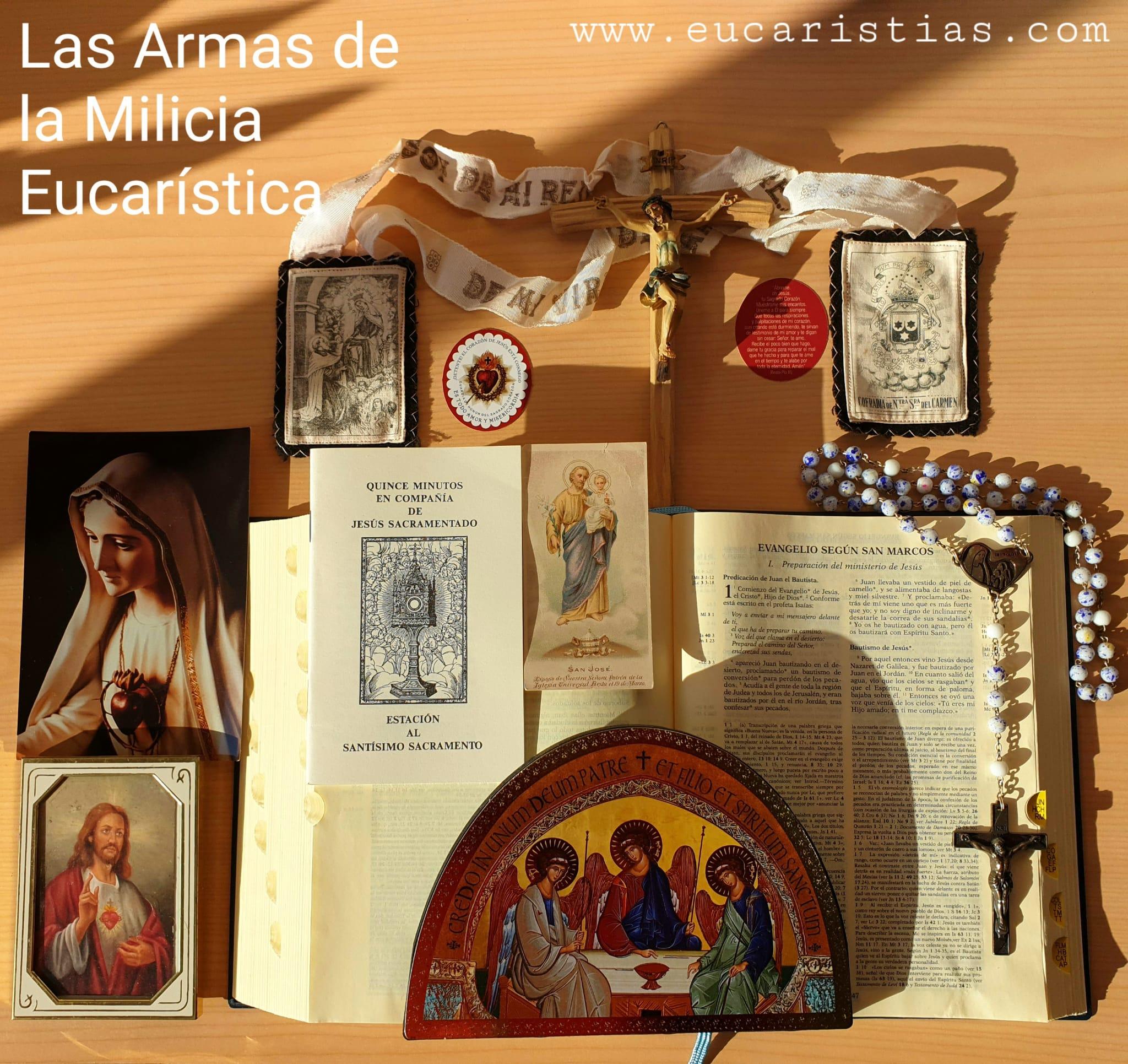 Las Armas de la Milicia Eucaristica
