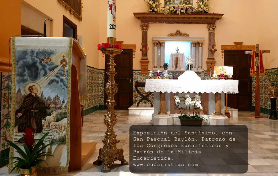 SanPascualBaylon Patron de la Milicia Eucaristica